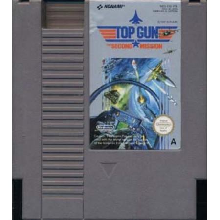 Top Gun Second Mission Nes Nintendo