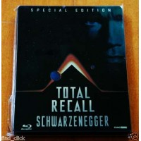 Atto Di Forza/Total Recall Limited Steelbook Blu Ray English/Deutsche Dubbing