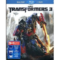 Transformers 3 - Shia Leboeuf/John Malkovich Slim Case Blu Ray + Dvd