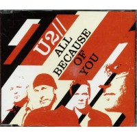 U2 - All Because Of You/Miss Sarajevo/A Man Woman Cd