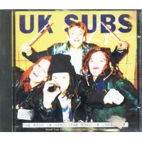 Uk Subs - The Road Is Hard The Road Is Long Ep Cd
