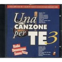 Una Canzone Per Te Vol.3 - Bose'/Mannoia/Oxa/Giorgia/Antonacci Cd