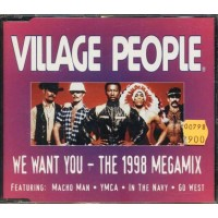 Village People - We Want You 1998 Megamix Cd
