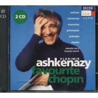 Vladimir Ashkenazy - Favourite Chopin 2x Cd