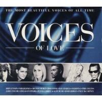 Voices Of Love - Tiziano Ferro/Norah Jones/Buble'/Madonna/Damien Rice/ Cd