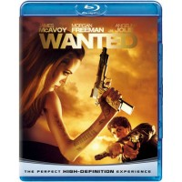 Wanted - Angelina Jolie/Morgan Freeman Blu Ray