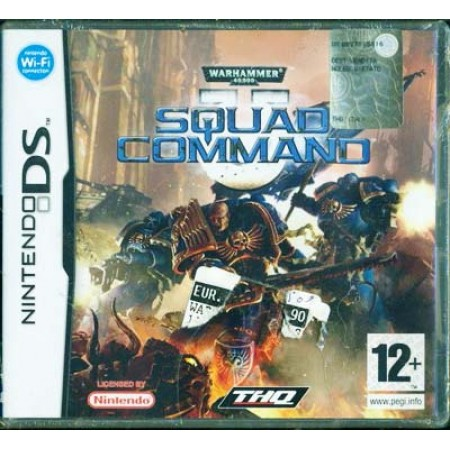 Squad Command Warhammer 40000 Nintendo Ds Gioco In Italiano
