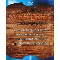Western Collection - La Conquista Del West/Il Mucchio Selvaggio/ Box 5X Blu Ray