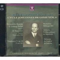 Wilhelm Furtwangler - Cycle Johannes Brahms Vol. 8 2x Cd