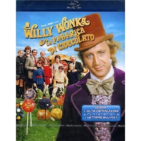 Willy Wonka E La Fabbrica Di Cioccolato - Gene Wilder Blu Ray