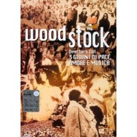 Woodstock Director'S Cut Joan Baez/Jimi Hendrix/Joe Cocker/Joplin/Santana Dvd