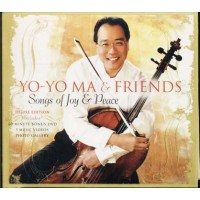 Yo-Yo Ma & Friends - Songs Of Joy & Peace (Krall/Brubeck/Botti) Dvd & cd